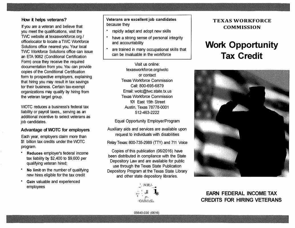 Veterans Career Opportunities